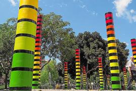 Amadama y el Bloop Festival transforman el Parque de la Paz de Ibiza