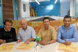 El Ayuntamiento de Sant Antoni y el Club Náutico inauguran un canal de piragüismo