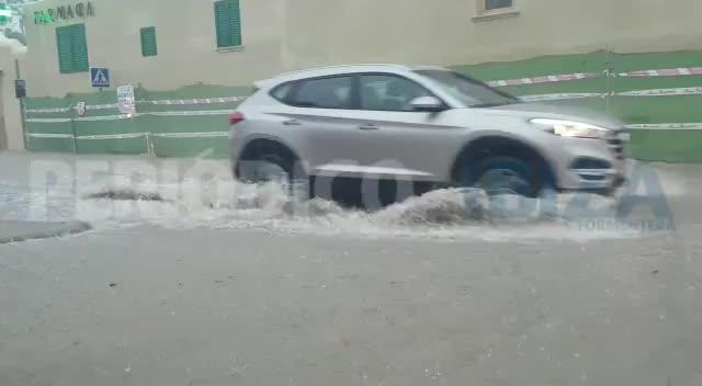 Tormenta en las Pitiusas: inundaciones, atascos y vuelos cancelados