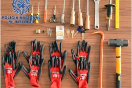 Desarticulado un especializado grupo criminal que planeaba una oleada de robos en casas de Ibiza