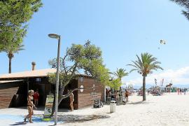 El chiringuito número 1 de la playa de Alcúdia es uno de los que se encuentra en mejores condiciones