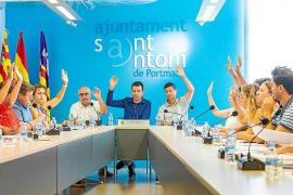 Sant Antoni declara las obras de restauración de la Torre des Llucs de interés municipal