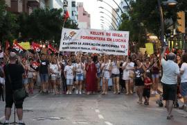 Las 'Kellys' denuncian a un hotel de Platja d'en Bossa por incumplimiento de la carga de trabajo y acoso laboral