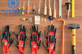 Desarticulado un grupo criminal que planeaba una oleada de robos en viviendas de Ibiza