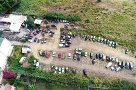 Desmantelado un taller clandestino en Sant Antoni con caravanas habilitadas como vivienda
