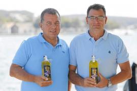 Ginebra de Menorca hecha con azafrán
