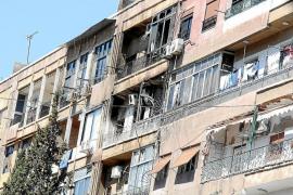 Al menos 30 muertos en los combates en el barrio diplomático de Damasco