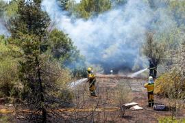 Baleares registra ocho incendios forestales y 85 conatos hasta septiembre