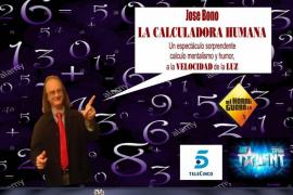 La calculadora humana y Manuel Bornes en La Movida