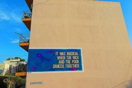 AMADAMA crea un mural en el Soto en el marco del BLOOP Festival