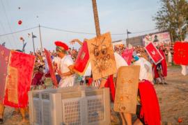 Sant Antoni celebra este viernes y sábado la XV Fiesta de Cartagineses y Romanos