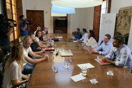 Reunión sobre la huelga de controladores de pasaportes