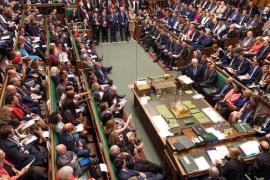Sesión del Parlamento británico