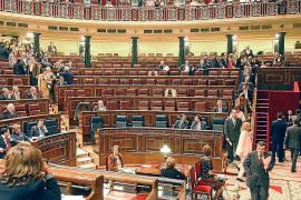 El presupuesto de las Cortes Generales se reduce este año un 4,4 por ciento de media