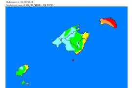Riesgo alto de incendios en Ibiza y Formentera