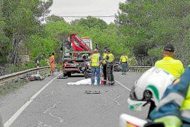 Tráfico registra cinco muertes en vías interurbanas de las Pitiusas