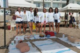 'Una playa para todos' se instala en ses Figueretes