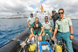 Intensa temporada de rescates, controles e inspecciones para el GEAS de Ibiza