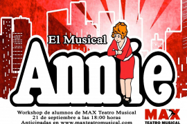 Workshop de alumnos de la Sala Dante con el musical 'Annie'
