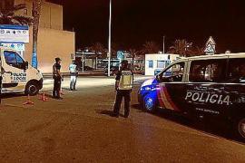 Detectadas dos alcoholemias positivas durante un servicio nocturno en Ibiza