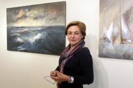 El Mediterráneo más enfurecido visto a través del pincel de Maria Antonia Torres