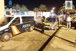 Más de un treintena de denunciados por alcohol o drogas en un control policial en Ibiza