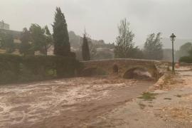 Elevan a nivel rojo el riesgo por lluvias en la Serra de Tramuntana
