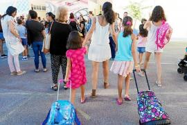 La vuelta al cole cuesta entre 190 y 430 euros por niño en las Pitiusas