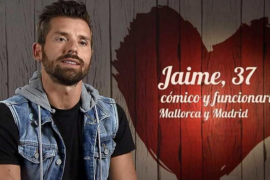 El humorista mallorquín Jaime Gili, en 'First Dates'