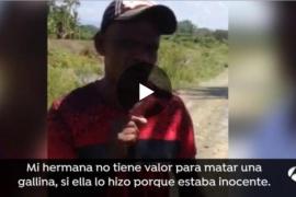 El hermano de Ana Julia Quezada: «Mi hermana no es una criminal, lo hizo sin querer»
