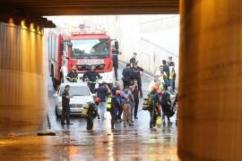 Un hombre muere en Almería a causa del temporal