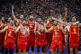 España, campeona del mundo de baloncesto