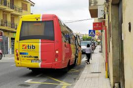 Autobús de la línea Inca-Lluc