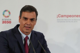 Sánchez llamará a Iglesias, Casado y Rivera antes de su reunión con el Rey