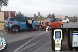 Da positivo en cocaína y alcohol tras causar un accidente e intentar huir