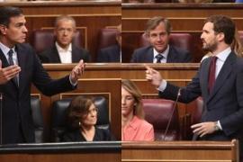 Casado avisa a Sánchez que «las elecciones las carga el diablo»