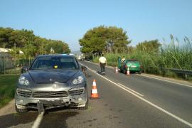 Un herido muy grave en un accidente múltiple en Ibiza