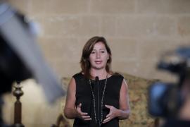Francina Armengol: «La desventaja la sufrimos todos y no tiene nada que ver con el nivel de la renta»