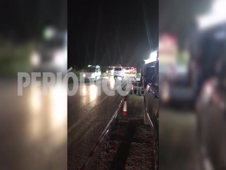 Los taxistas de Sant Josep boicotean a los usuarios a la salida de una discoteca