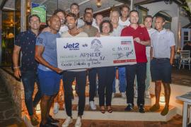 El partido benéfico en Sant Antoni recauda 14.177 euros para Apneef
