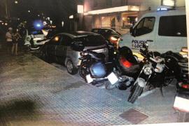 Triplica la tasa de alcohol tras golpear a seis vehículos en Vila