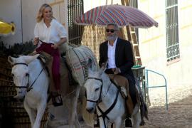 George Clooney rueda un anuncio publicitario en Navalcarnero