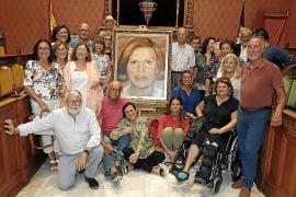 Retrato de Caty Juan en el Consell de Mallorca