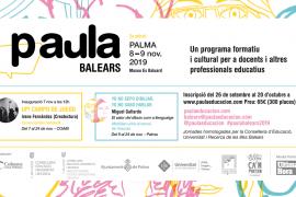 Regresa PAula Balears, el encuentro formativo y cultural para docentes
