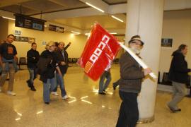 Palma huelga 29 m aeropuerto fotos teresa ayuga