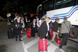 Palma local ambiente aeropuerto justo antes de la huelga fotos teresa