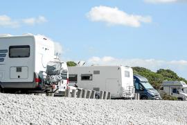 Santa Eulària es el municipio que más sanciona la acampada libre de caravanas
