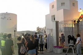 Puertas abiertas en el observatorio de Puig des Molins
