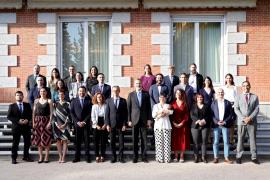 Audiencia del rey Felipe VI con representantes de la RAICEX