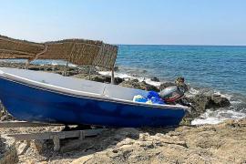 La llegada de una nueva patera se salda con nueve detenidos en Formentera